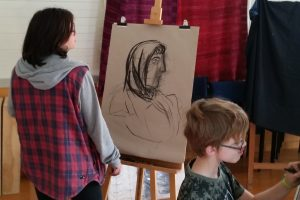 Easel-ly Arty 2020 – tutored kids drawing workshop – come and draw with us !