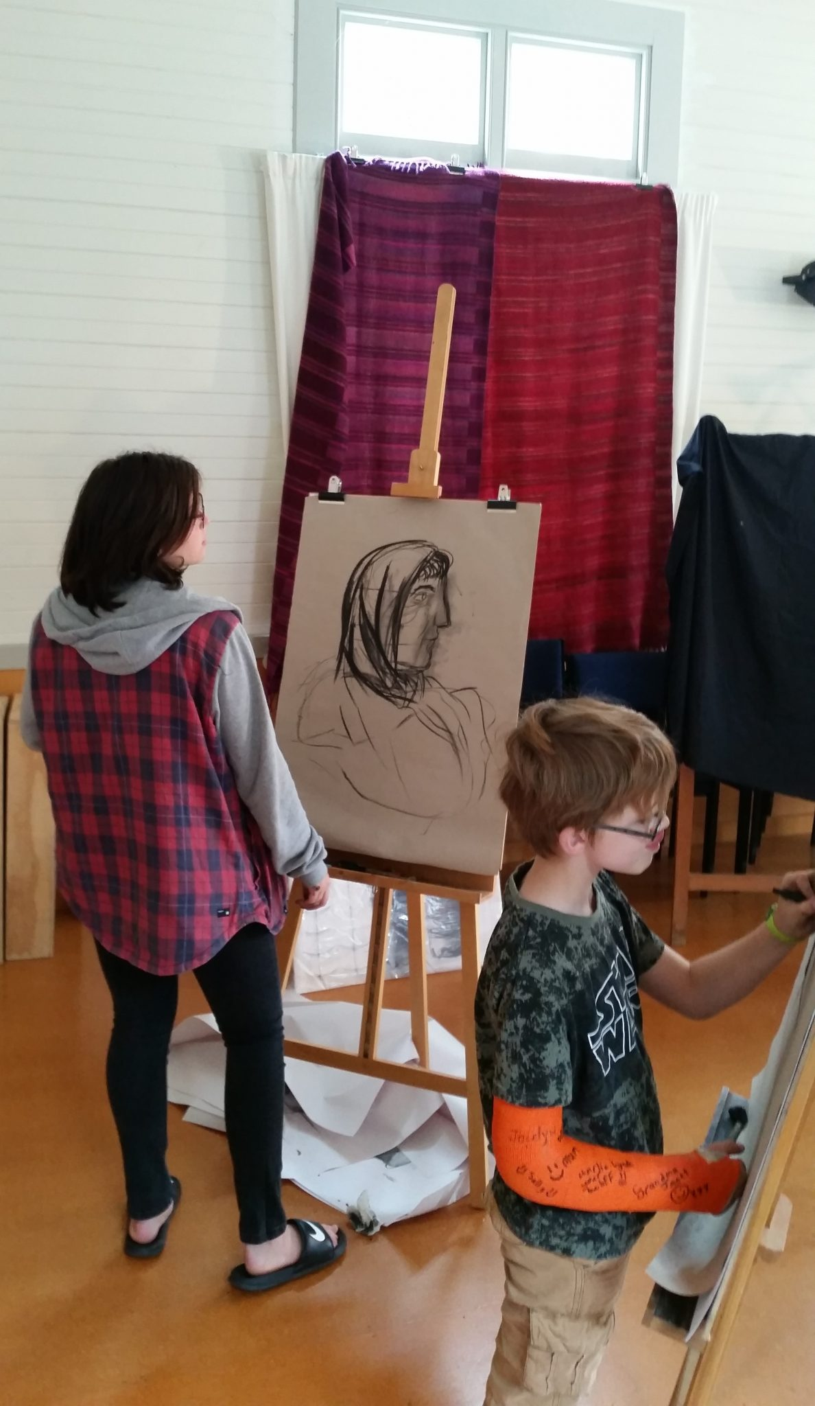 Easel-ly Arty 2 – Charlotte Stockman and Curtis Johnson