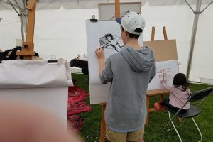 Easel-ly Arty – tutored kids drawing workshop