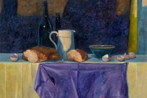 Time Travel In Oils with Siene de Vries