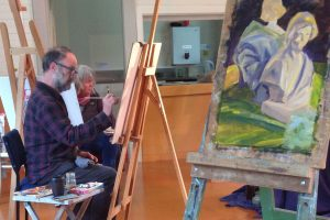Oil Painting 2021                         with Siene de Vries