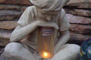 Make a Garden Sculpture at Blythcliffe – Cement Garden Art with John Harding, ex WETA Workshop art director