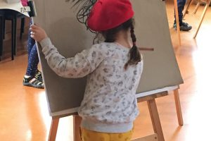 Easel-ly Arty – Discover your Mirror Image ! Tutored kids drawing workshop – come and draw with us !